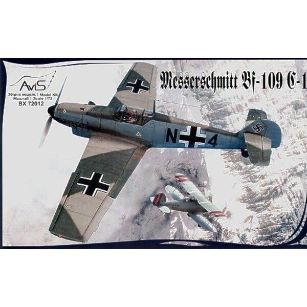 Messerschmitt Bf 109C-1 2WK-Deutscher-Jäger