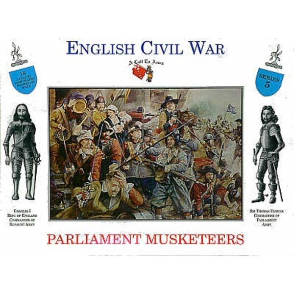 Parlament Musketeers 16 Figuren