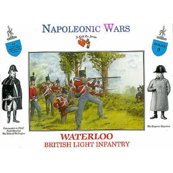 Britische Infanterie Waterloo 16 Figuren