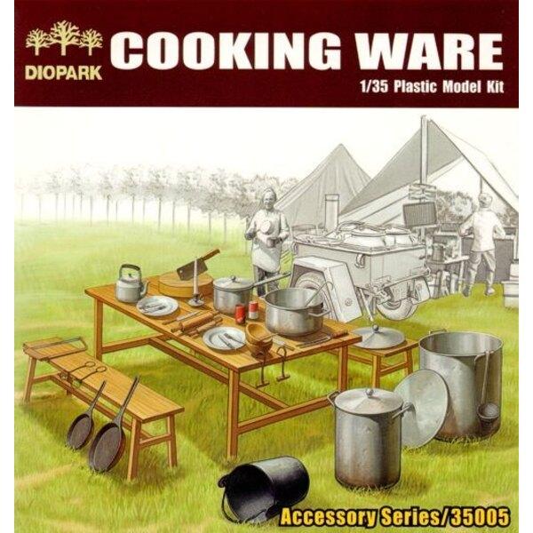Das Kochen von Waren