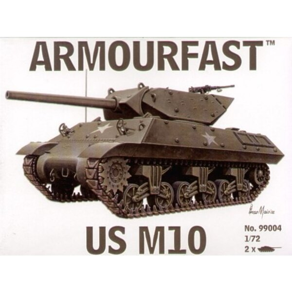 M10 Panzer-Zerstörer US: Satz schließt 2 Schnappen zusammen Panzer-Bausätze ein