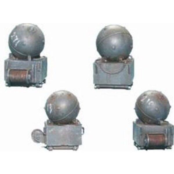 Mines und Ausrüstung