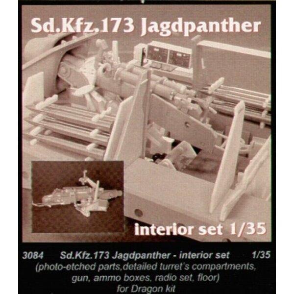 Jagdpanther Interior (für Bausätze von Dragon)