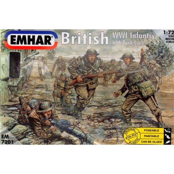 1.WK Britische Infanterie und Panzerbesatzung