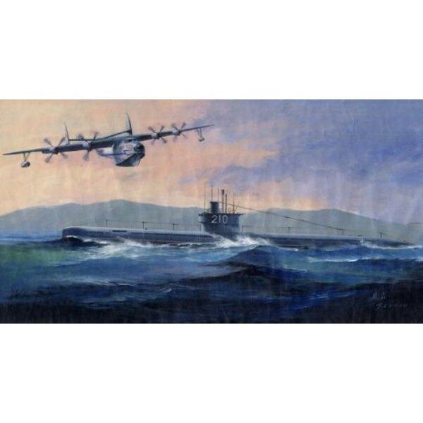 PLAN-Unterseeboot des Typs 033 & SCH 5