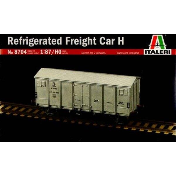 Gekühlter Güterwagen H (Abziehbilder für 2 Versionen)