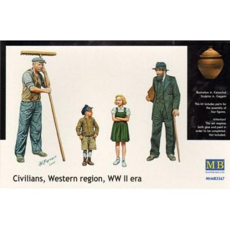 Bauern 2WK-Zeitalter von Westeuropa