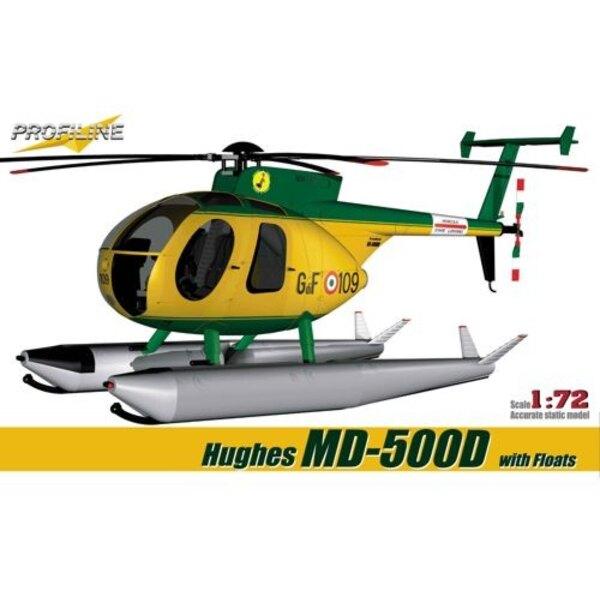Hughes MD-5 00D mit Schwimmer