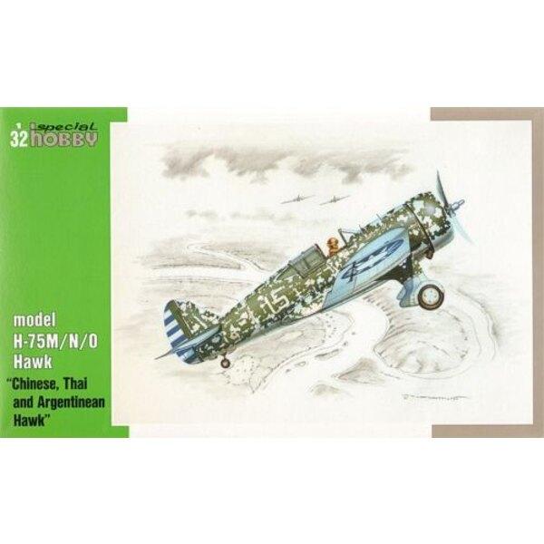 Curtiss Hawk Model H-75M/N/O. Zwischen den Kriegen war Curtiss Kampfflugzeug das überlegte das beste, und so wurden sie in der