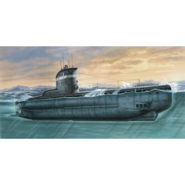 U-Boot Typ XXIII. Einspritzung formte mit Harz und geätzten Teilen (Unterseeboote)