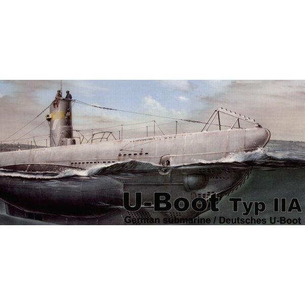 U-Boot Typ IIA Einspritzung geformt (Unterseeboote)