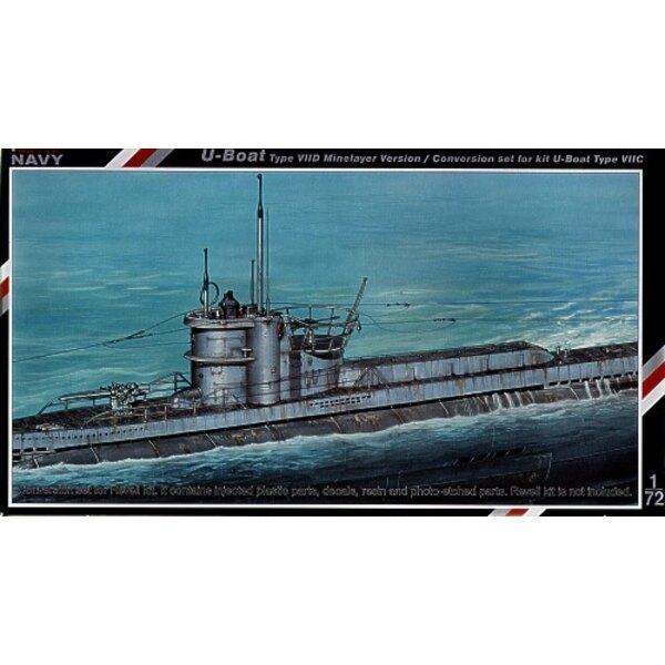 U-Boot Typ VIID Umrüstsatz für Minenleger.
