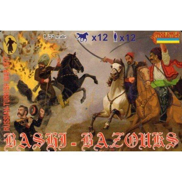 Bashi-Bazouks 1877 Russo-türkischer Krieg 1877
