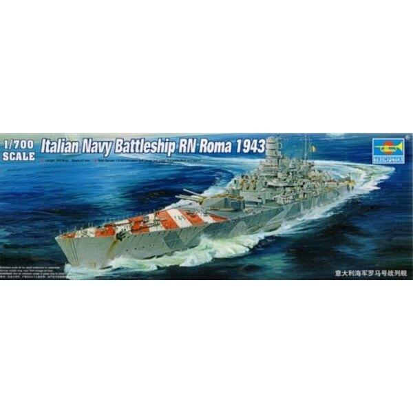 Italienisches Marineschlachtschiff RN Roma 1943
