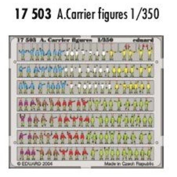 Flugzeugträger Figuren in Farben vorgemalt!