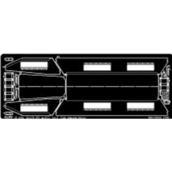 Sd.Kfz.251:1 Ausf. D. Pt.3. Stauraum-Behälter. (für Dragon DN6233 und DN6223 Bausätze)