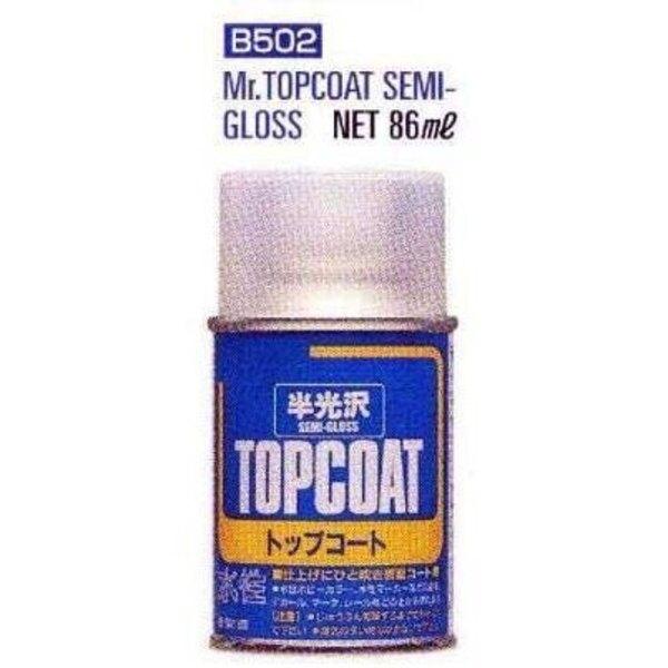 B502 Mr.Top coat semi gloss Spray