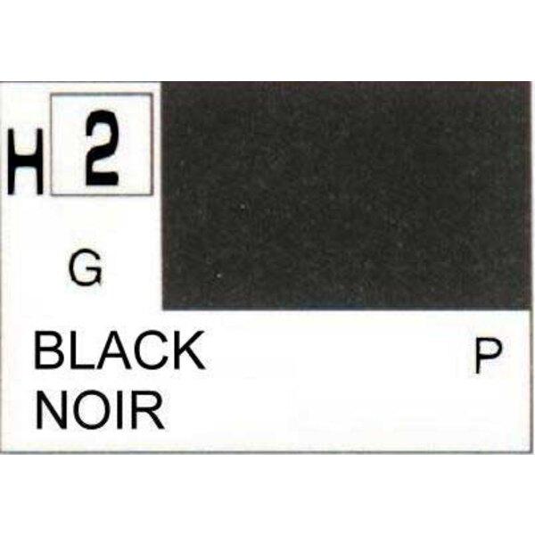 H002 Schwarz glänzend