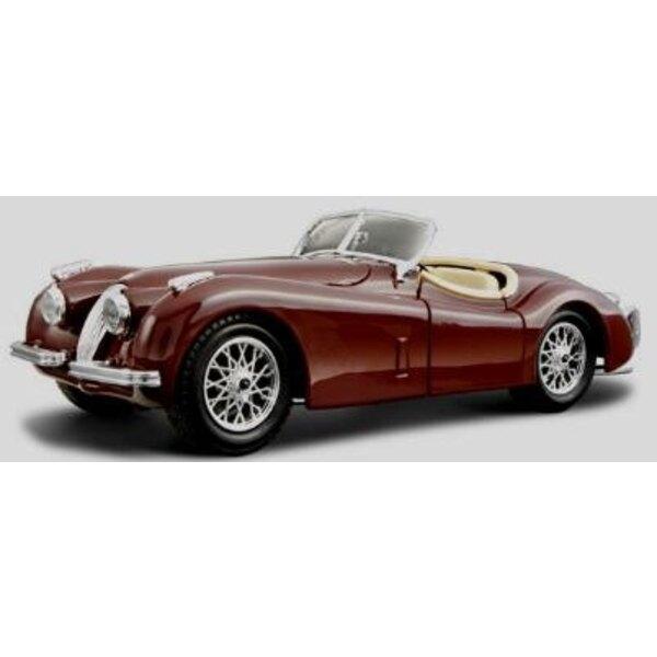 Jaguar xk 120 roadster 1948 1:24
