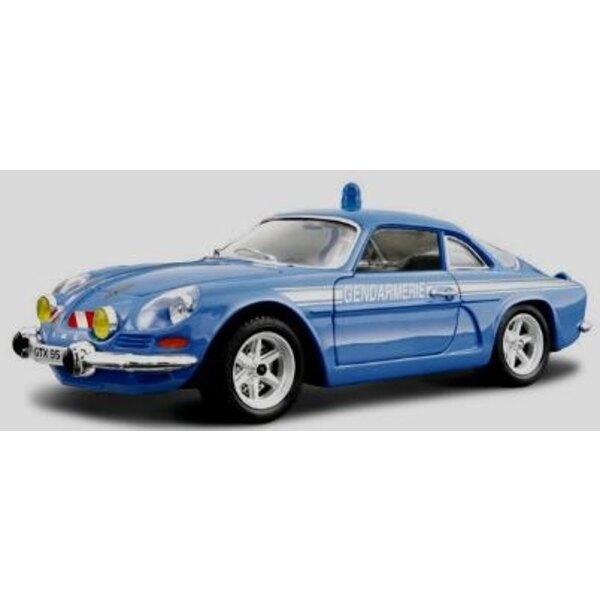 Alpine Renault französische Gendarmerie 1:24