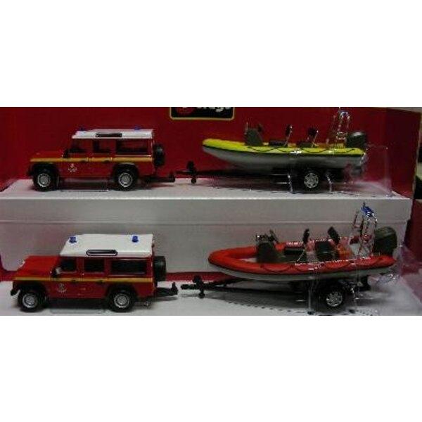 vehicle Feuerwehr+boat 5mod