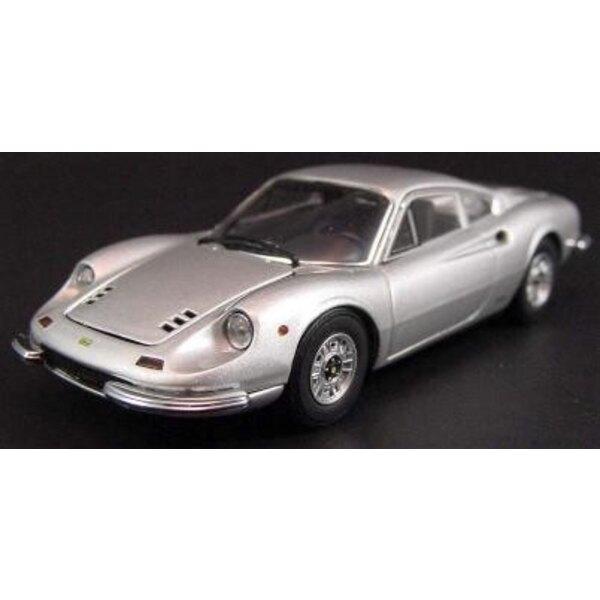 Ferrari 246gt silber 1:43