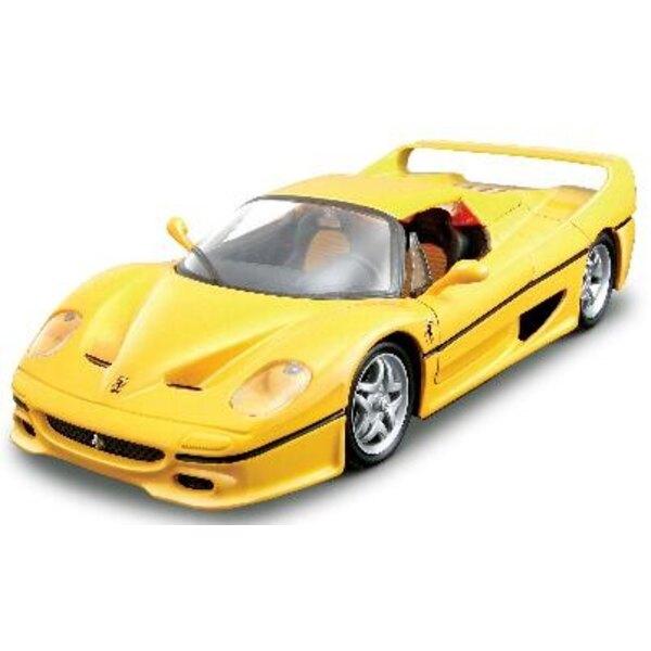 Ferrari f50 gelb rot kit 1:24