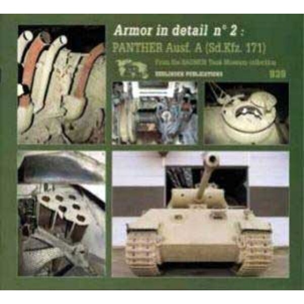 armor in detail panther ausf.
