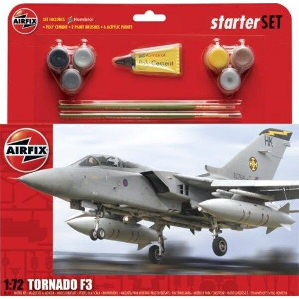 Tornado F.3 Starter-Set schließt Acrylfarbe-Bürsten und Poly-Zement ein