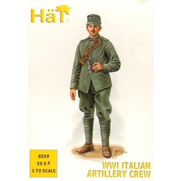 WWI Italienisch-Artillerie-Besatzung