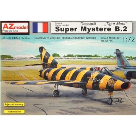 Dassault Super-Mystère B.2 Tiger Meet Markierung