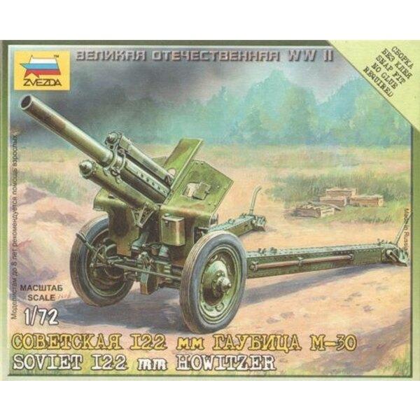 Sowjetische Haubitze M-30