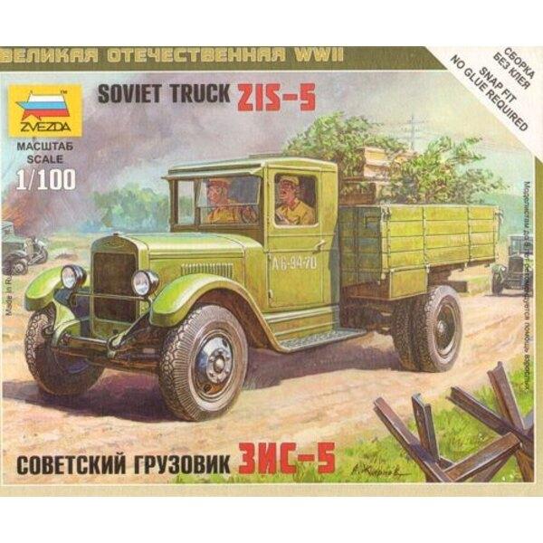 Sowjetischer Lastwagen ZIS-5
