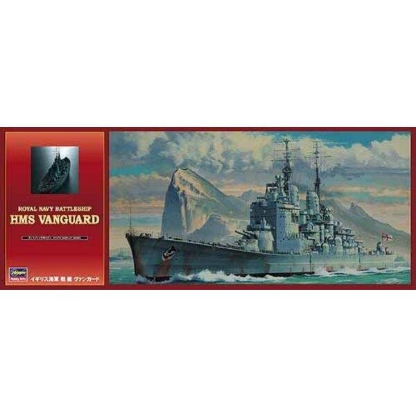Schlachtschiff von Royal Navy HMS Vanguard
