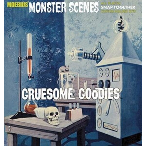 Monster Scenes Gruesome Goodies (snap together)