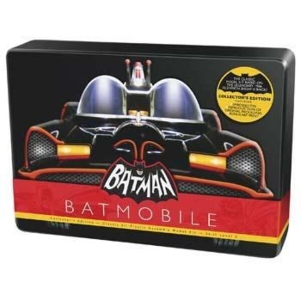 Classic 1966 Batmobile in Collector's Edition tin. Made from the original molds