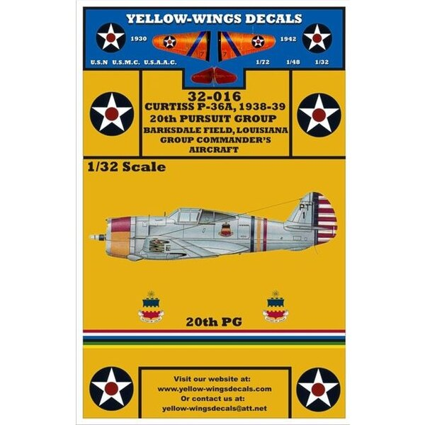 USAAC P-36A (designed to be used with Special Hobby kits)