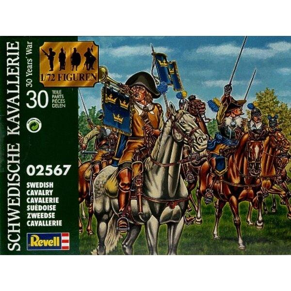 Schwedische Kavallerie. Dreißigjährigen Krieges. (Diese wurden von Revell seit Waterloo1815 Italien hergestellt)
