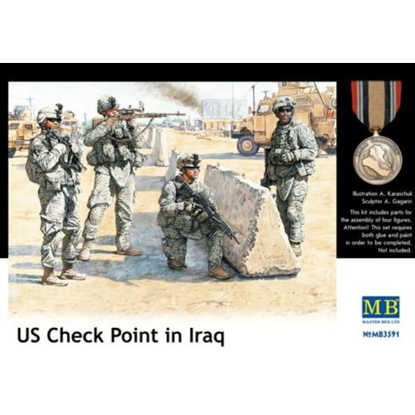 US Check Point im Irak