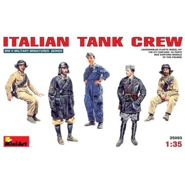 Italienisch (WWII) Tank Crew