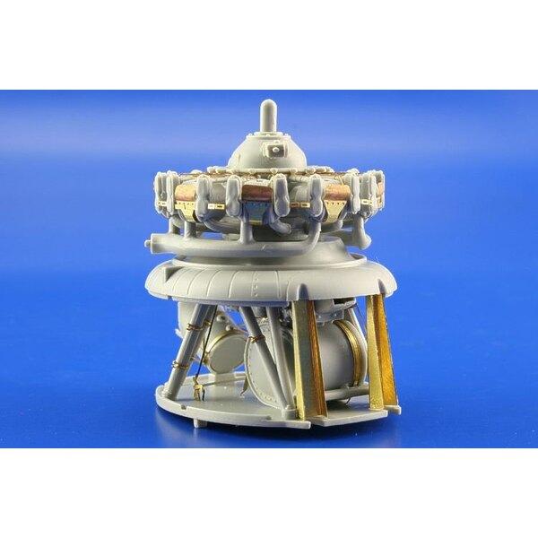 Motor von Douglas SBD Dauntless (für Bausätze von Trumpeter)