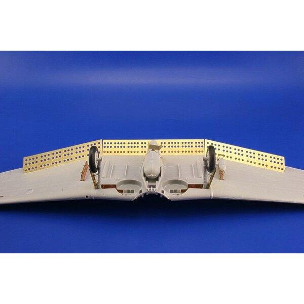 Bremsklappen von Douglas SBD Dauntless (für Bausätze von Trumpeter)