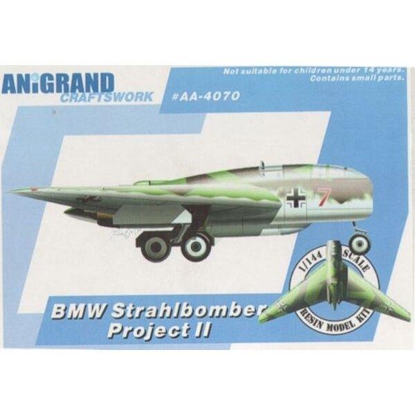 BMW Strahlbomber P.II. Long-Range-Nurflügel-Bomber-Projekt. Inklusive Bonus-Kits der Blohm und Voss BV.P.170, Blohm und Voss BV.