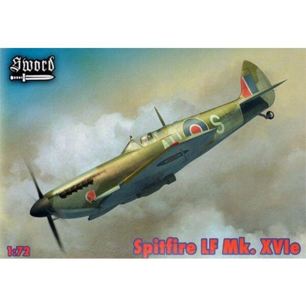 Supermarine Spitfire LF Mk.XVIe Versionen für TB634, TB520, SM471 Enthält Harz Kanonen und erschöpft