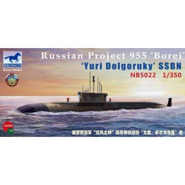 Projekt 955 'Borei 'Juri Dolgoruki' SSBN