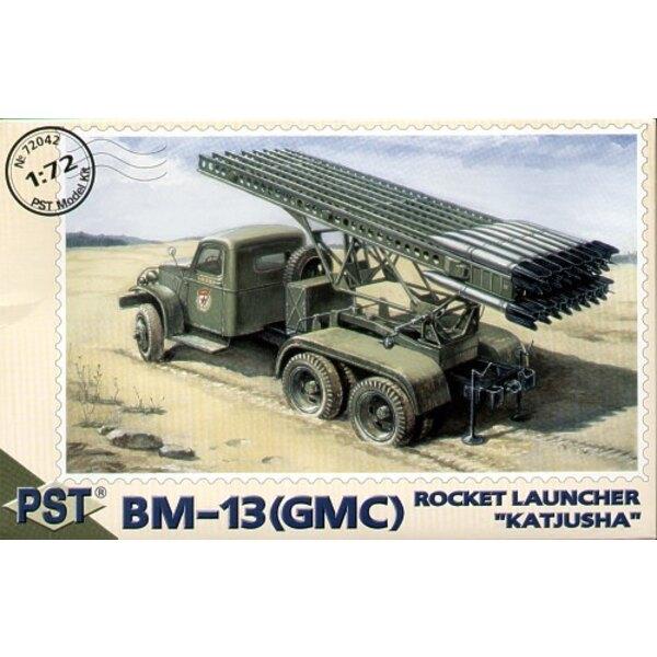 Katjusha 'Rocket Launcher BM-13 auf GMC-Chassis