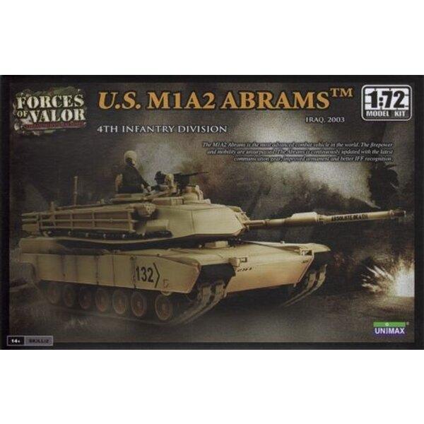 M1A2 Abrams - ACHTUNG: Dies ist ein Modellbausatz und NICHT eine Miniatur bereits montiert