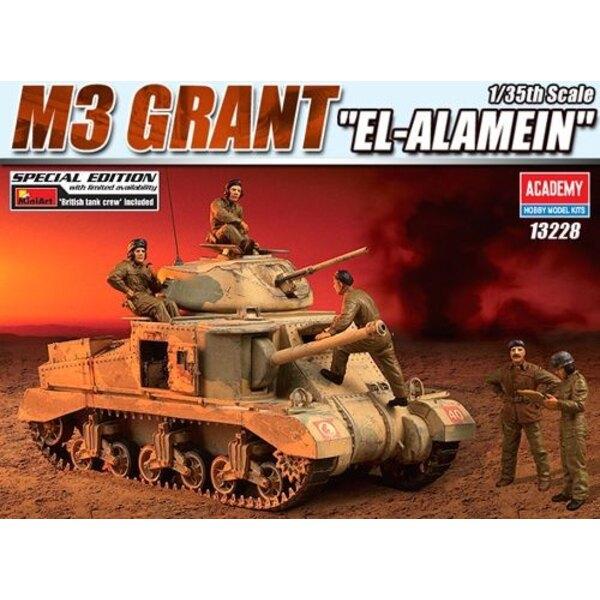 M3 Grant mit Mini - britische Kunstpanzer-Besatzung (Beschränkte Ausgabe)