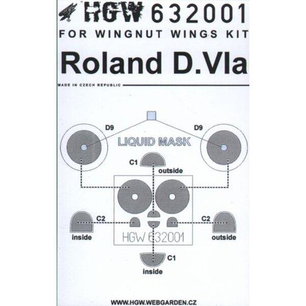 Roland D.VIa (für Bausätze von Wingnut Wings)