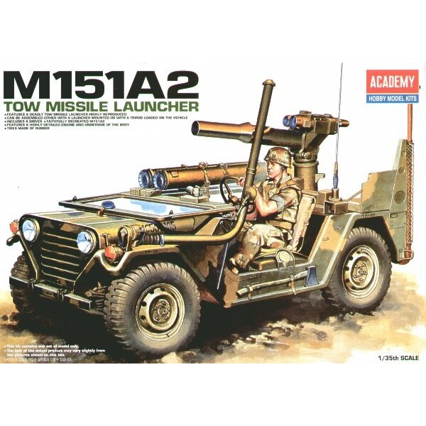 M151 A2 Tow Missile Jeep